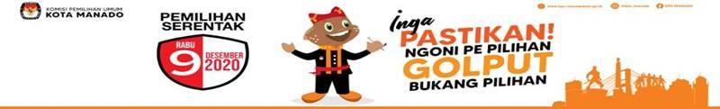 Banner KPU Manado