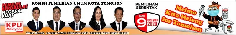 Banner KPU Tomohon