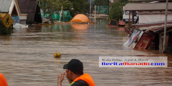 Banjir di Kelurahan Banjer