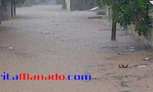 Hujan Deras, 50 Rumah di Taas Terendam Air