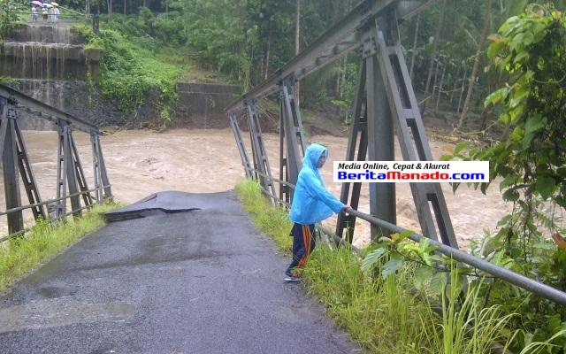Jembatan Kuwil Kawangkoan Putus