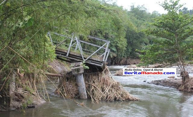 Jembatan Putus Kuwil Kawangkoan 2