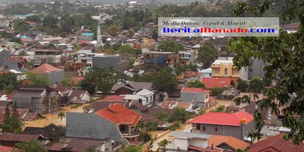 Lokasi banjir di Kelurahan Tikala Baru dan Kelurahan Banjer