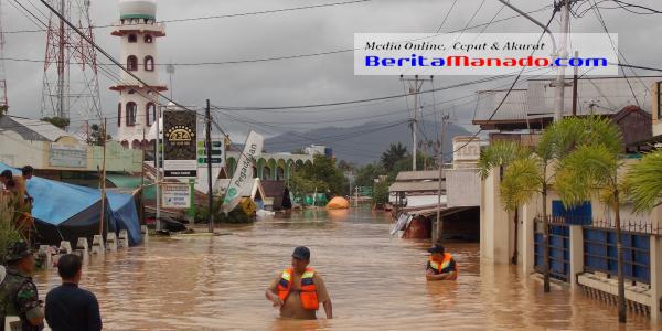 Lokasi depan Masjid Kelurahan Banjer