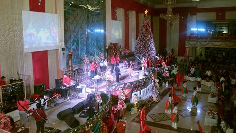 Suasana Natal Pelpap (foto ist)
