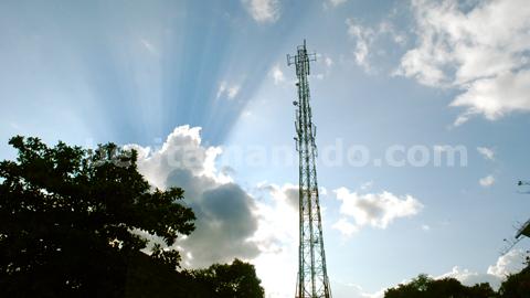 Salah satu tower (beritamanado)