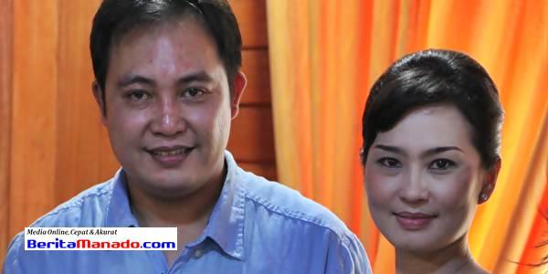 Careig Naichel Runtu bersama istri tercinta Agnes Salangka
