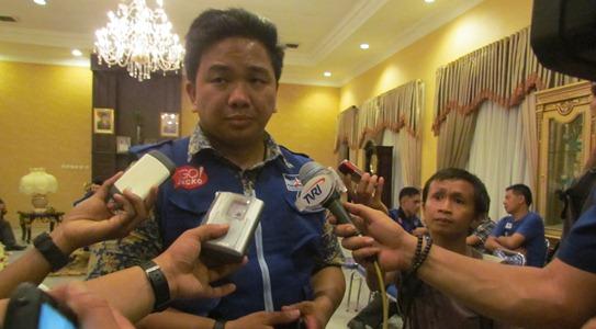 Jackson Kumaat, Ketua KNPI Sulut (foto Beritamanado)