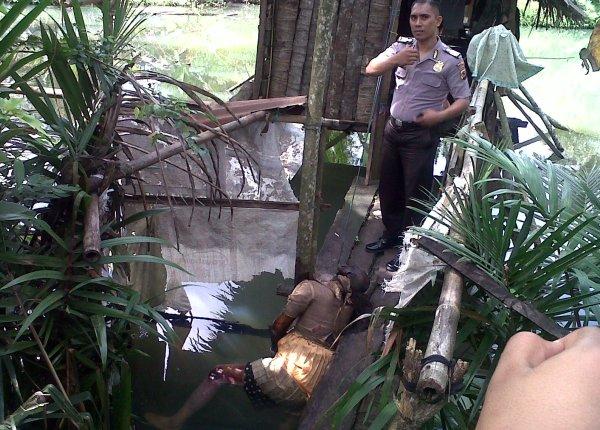 Korban Ombeng Tumigolung Ditemukan Dalam Kondisi Menganaskan