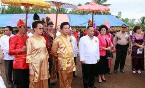 Budaya Nusa Utara dan Tonsea 'Menyatu' di Tulude