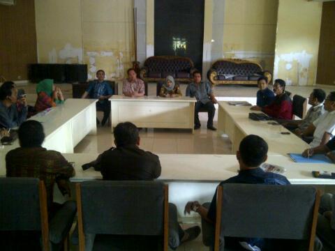 Kunjungan DPRD Kota Bima