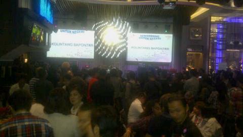 Konser amal Senandung untuk Negeri disesaki pengunjung (foto ist)