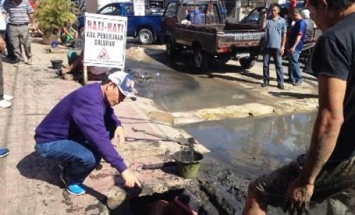 Atasi Masalah Banjir, BART ASSA Rencanakan Pembangunan Drainase Menggunakan Precast