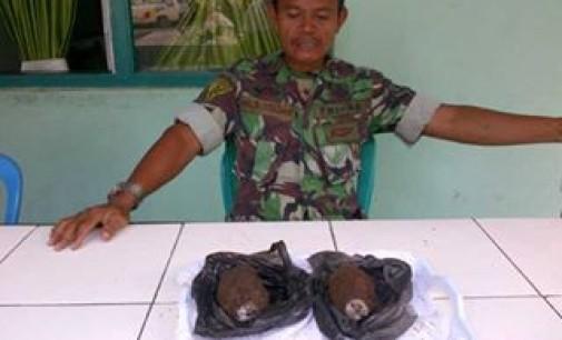 Dua Granat Ditemukan Dekat Pasar Airmadidi