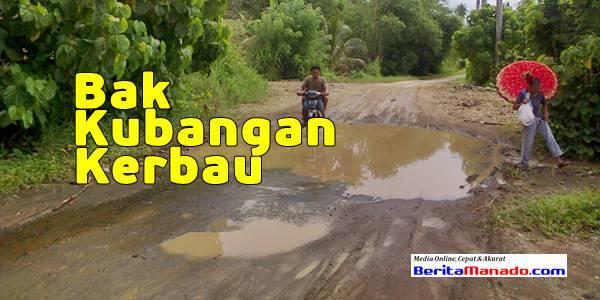 Jalan Sulu-Paslaten Bak Kubangan Kerbau