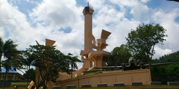 Monumen Trikora berada di Pulau Lembeh Kota Bitung