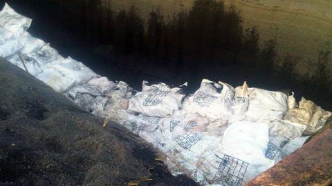 Daging ayam asal Surabaya yang gagal dimusnakan (foto ist)