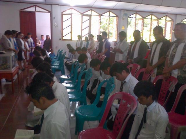 Peneguhan Sidi Jemaat Baru