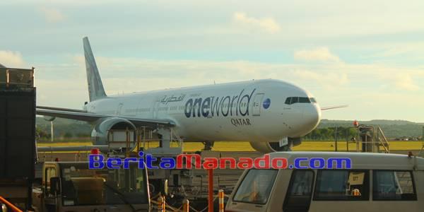 Suasana Bandara Internasional Ngurah Rai Bali