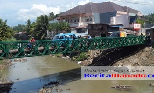 Jembatan Dendengan Selesai, Warga Apresiasi Pemkot Manado