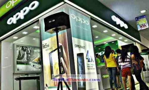 Oppo Smartphone Jadi Brand Terbaik di Manado
