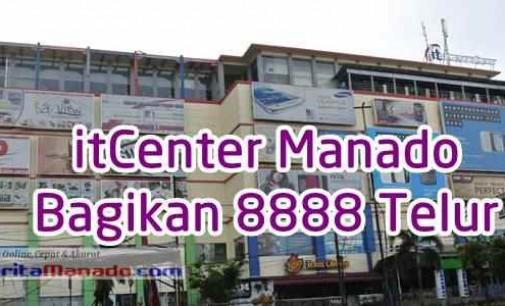 Sambut Paskah, itCenter Manado Bagikan 8888 Telur