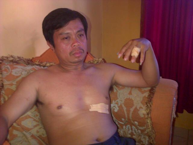 Korban Penikaman, Korlap Gebrak Minsel Niko Lonteng