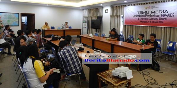 Workshop Media Mengenai HIV-AIDS bersama KPA Sulut