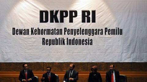 DKPP RI (foto ist)