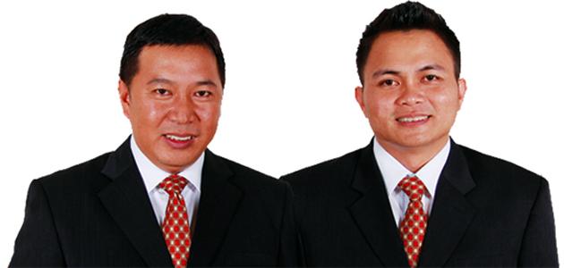 Bupati James Sumendap SH dan Wakil Bupati Ronald Kandoli