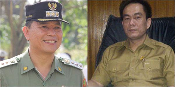 Walikota Tomohon Jimmy Eman SE Ak dan Ketua DPRD Andy Sengkey SE.