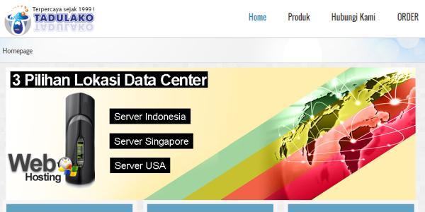 Tadulako Web Hosting Indonesia