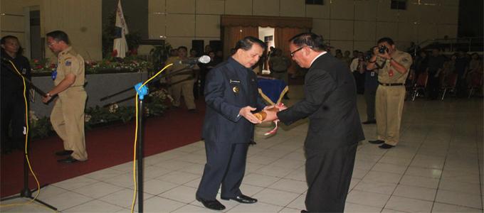 Pelantikan Sekda Minsel oleh Gubernur Sulut