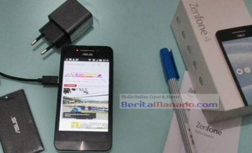 Smartphone Berkualitas Asus Zenfone 4 Sudah Tersedia di Manado