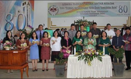 Dari HUT Jemaat GMIM Elim Kolongan ke-80 dan Pisah Sambut Pendeta