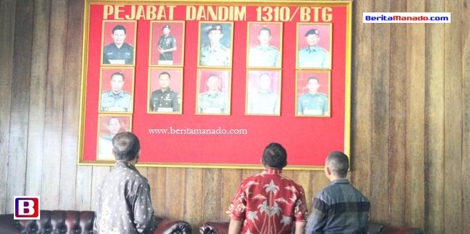 Sompie Singal Silaturahmi ke Dandim 1310 Bitung 5