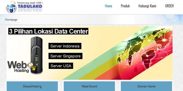 Web Hosting di Manado