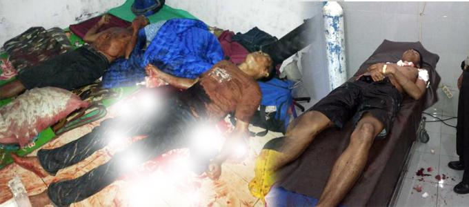 Tiga ABK Philipina yang ditemukan bersimbah darah di kamar kos (foto ist)