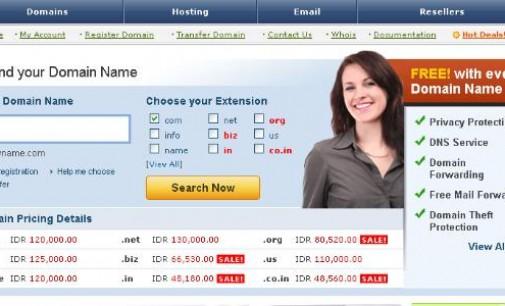 Penyedia Web Hosting dan Domain Name di Manado