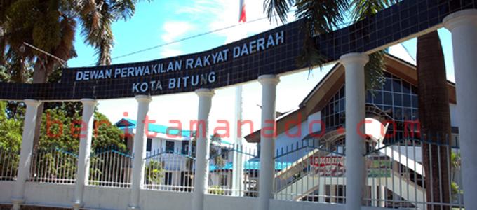 Kantor DPRD Kota Bitung (foto beritamanado)