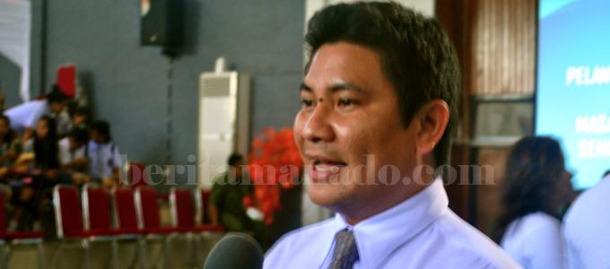Santy Gerald Luntungan (foto beritamanado)