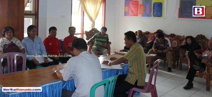 Pulau Bangka Aspirasi di DPRD Minut 2