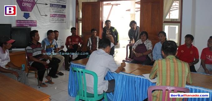 Pulau Bangka Aspirasi di DPRD Minut 3