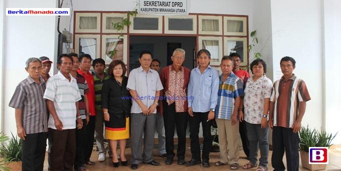 Pulau Bangka Aspirasi di DPRD Minut 4