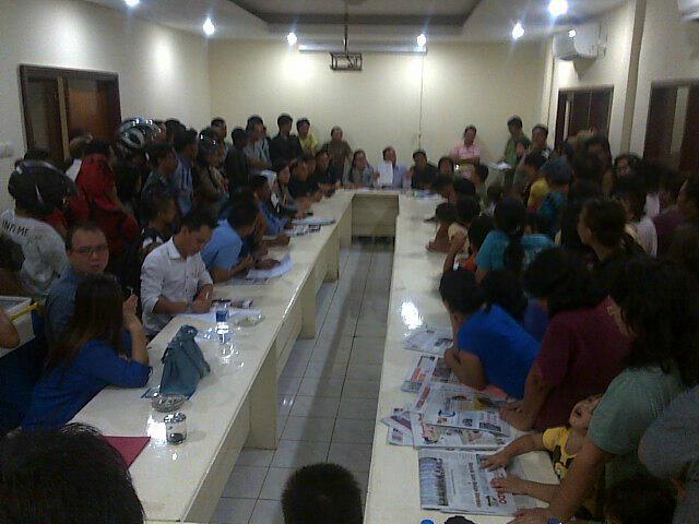 DPRD Manado menerima keluhan warga korban bencana