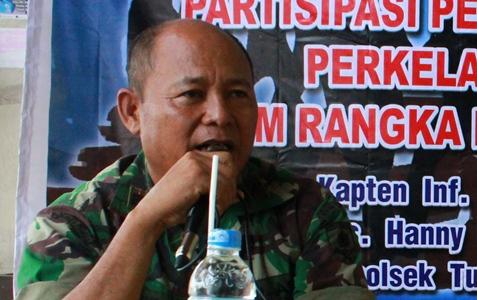 Kapten Inf Samudji (foto Beritamanado)