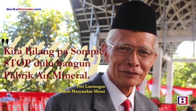 Piet Luntungan air mineral