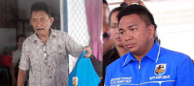 Frans Natang dan Jackson Kumaat (foto beritamanado)