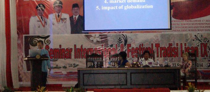 Seminar Budaya Internasional (foto ist)