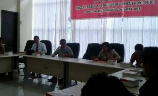 AIPI Gelar FGD di Fakultas Hukum